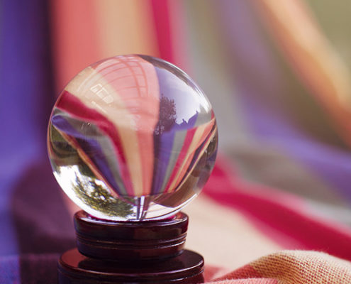crystal ball - Is the Correction Over?